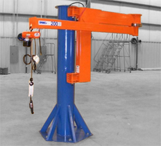 Industrial Handling Services Inc Gantry And Jib Cranes